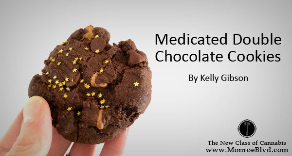 Medicated Double Chocolate Cookies