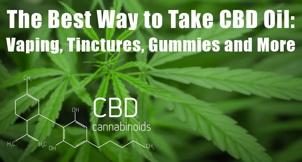 best-way-to-take-cbd-oil