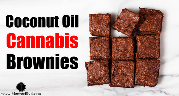 Cannabis Coconut Oil Brownies - how to make weed brownies with coconut oil