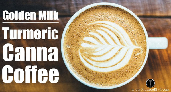Tania's Golden Milk - Turmeric Cannabis Infused Coffee
