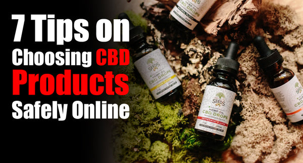 7 Tips on Choosing CBD Products Safely Online