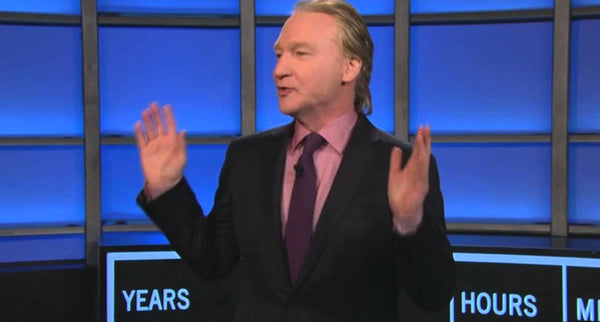 When Bill Maher Smoked a Joint on Live TV