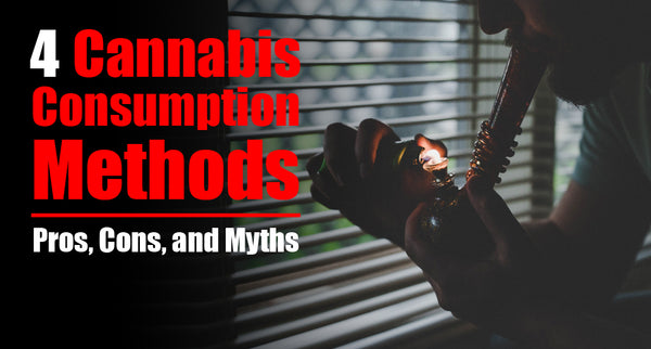 4 Cannabis Consumption Methods: Pros, Cons, and Myths