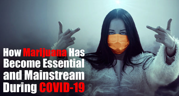 How Marijuana Has Become Essential and Mainstream During COVID-19