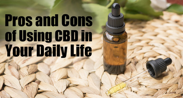 Pros and Cons of Using CBD in Your Daily Life