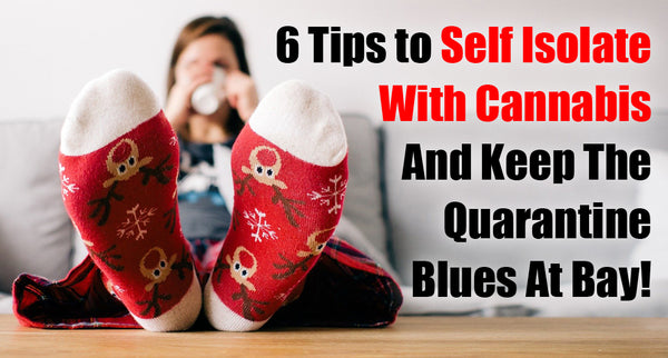 6 Tips to Self Isolate With Cannabis And Keep The Quarantine Blues At Bay!