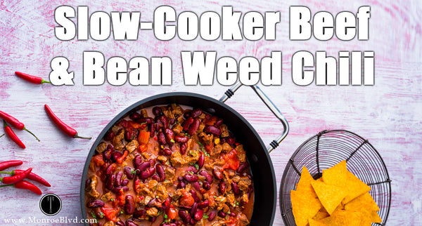Slow-Cooker Beef and Bean Marijuana Chili - Marijuana Recipe