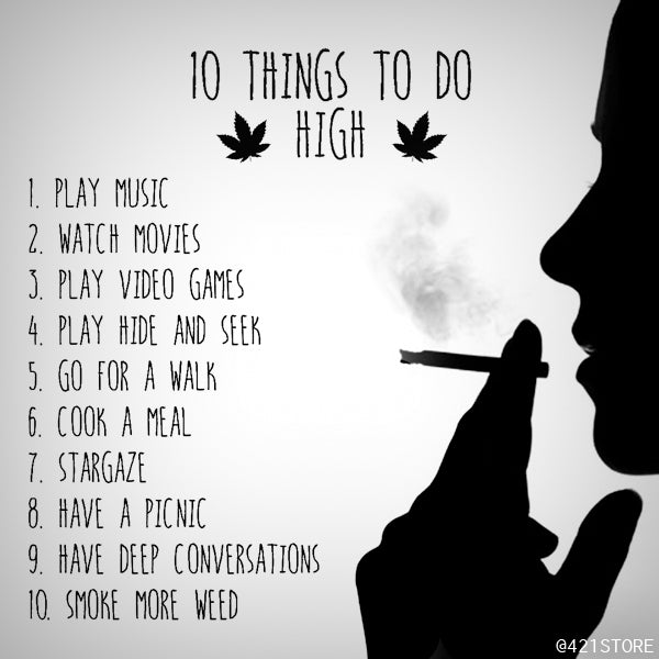10 things to do when smoke weed