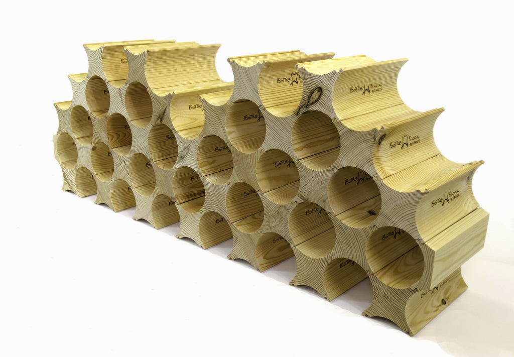 Bottle Block wine racks - First Post