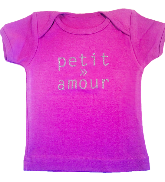 Petit Amour Girls Organic Cotton T-Shirt