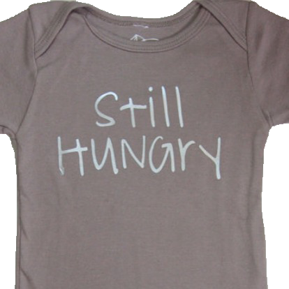 Still Hungry Organic Cotton Kids T-Shirt