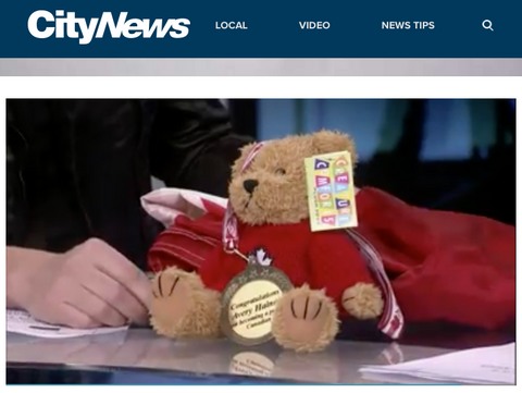 Our Bear on CityNews