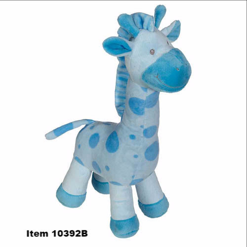 "Jumbo Giraffe with rattle, 16""- 10392"