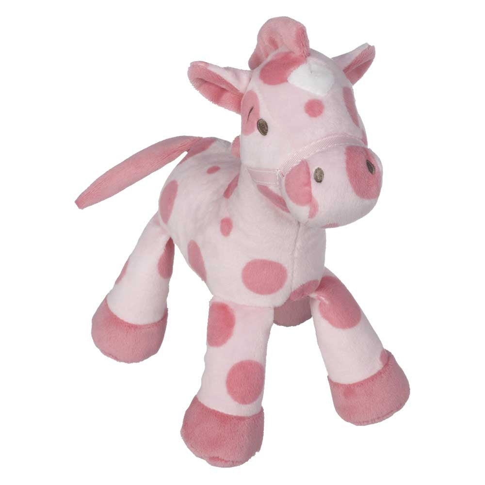 "Horsie with Rattle, Pink 9"" - 10395P"