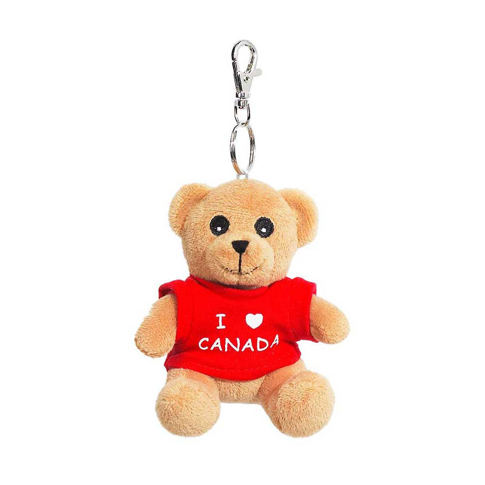 "Bear With T-shirt Keychain 3""-11257"