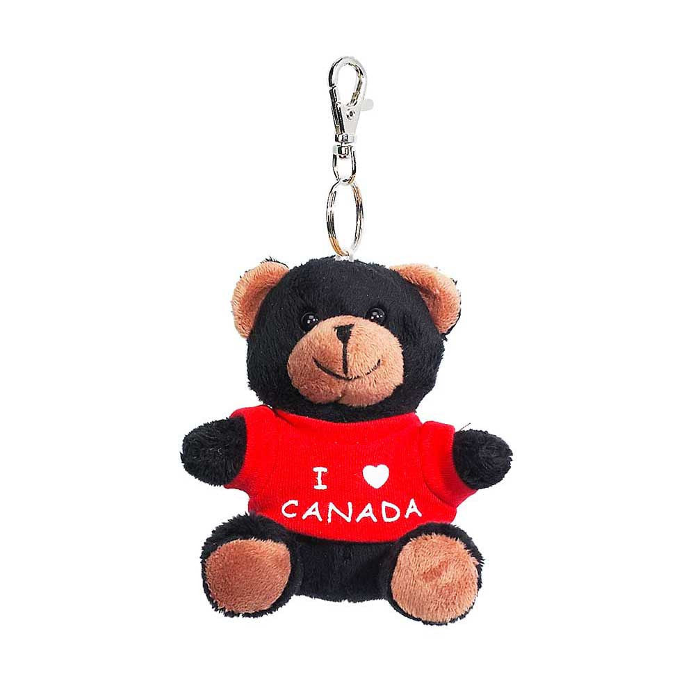 "Black Bear With Tee-shirt 3""-11258"
