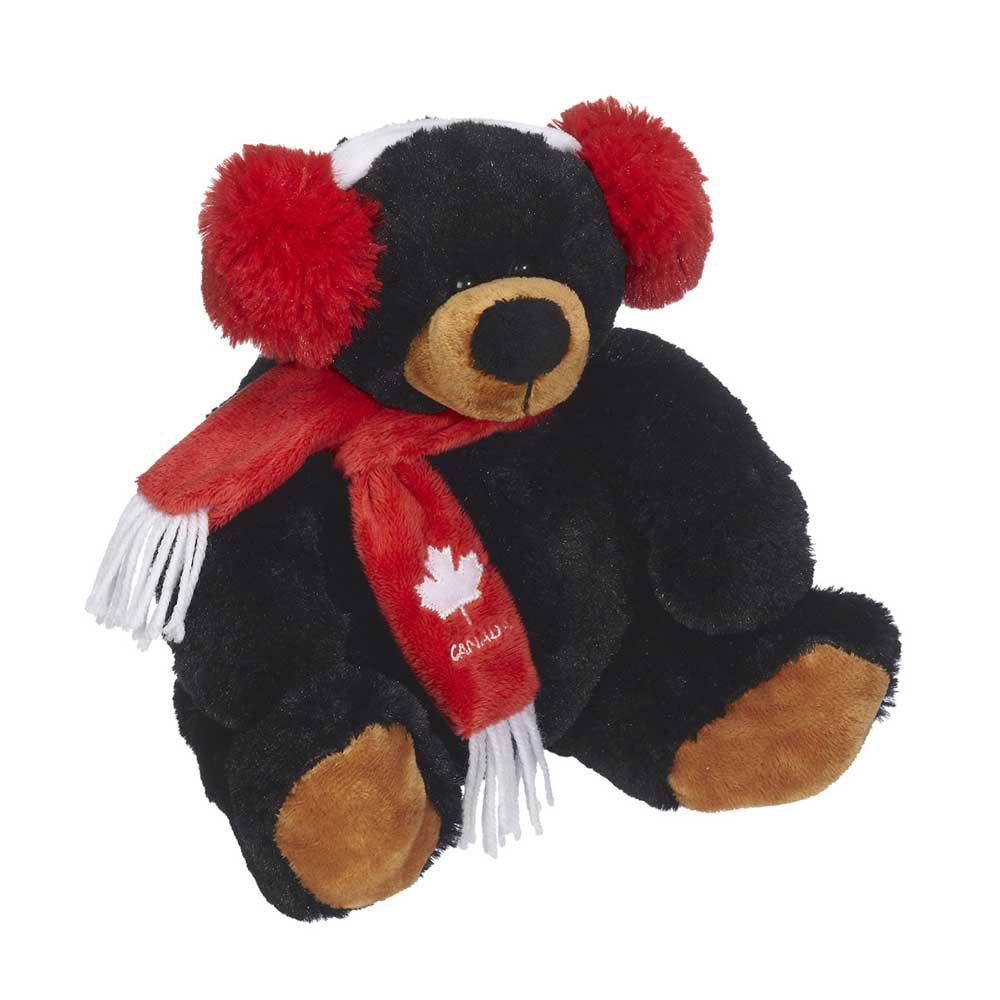 "Muffy Black Bear 8""- 13181"
