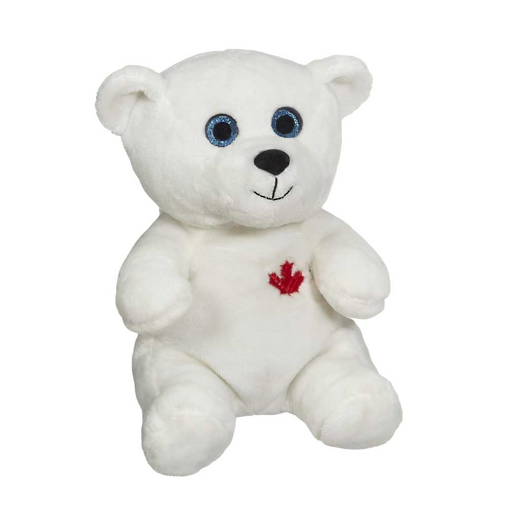 "Sparkle Eye Polar Bear 7"" 14795"