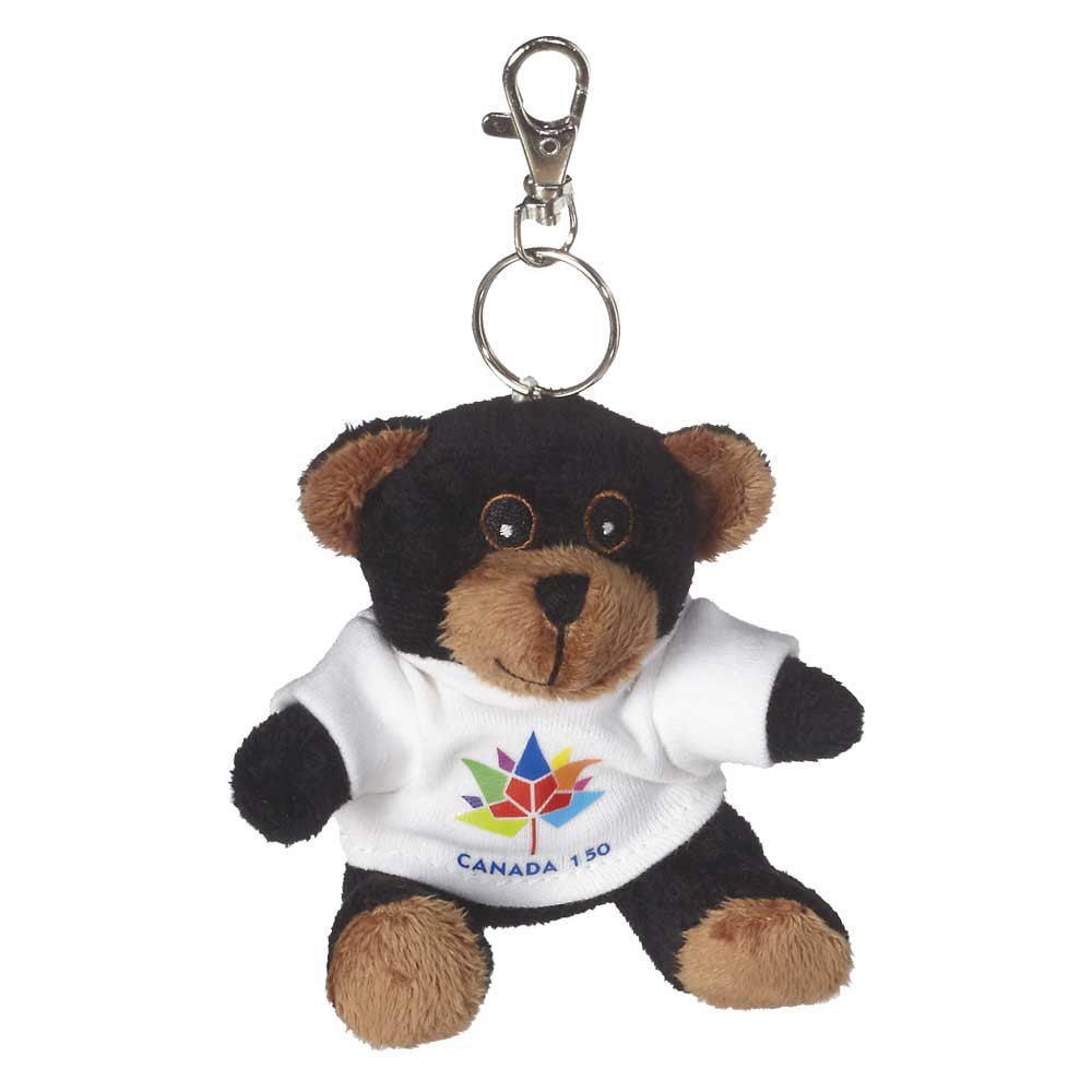 "Black Bear Keychain 3"" - 15072"
