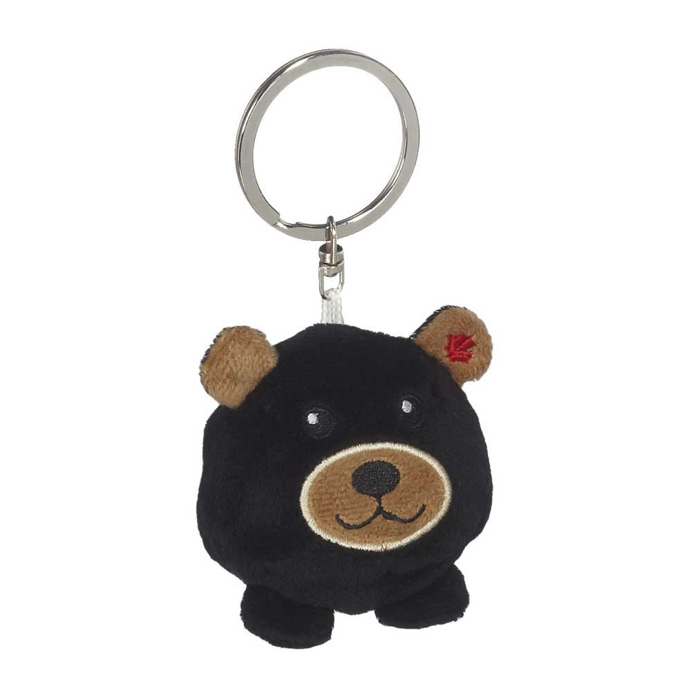 "Mini Black Bear Hunk Keychain 2""- 15792"