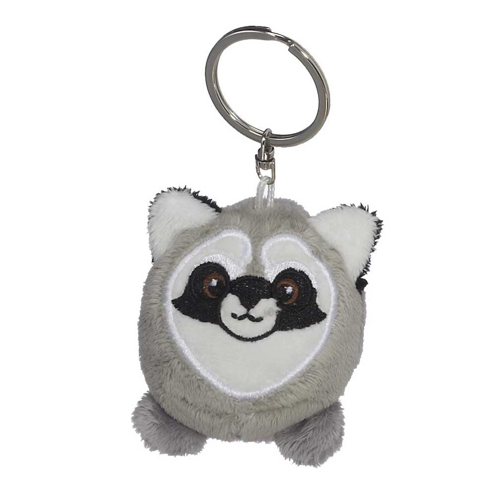 "Mini Raccoon Hunk Keychain 2""- 15799"