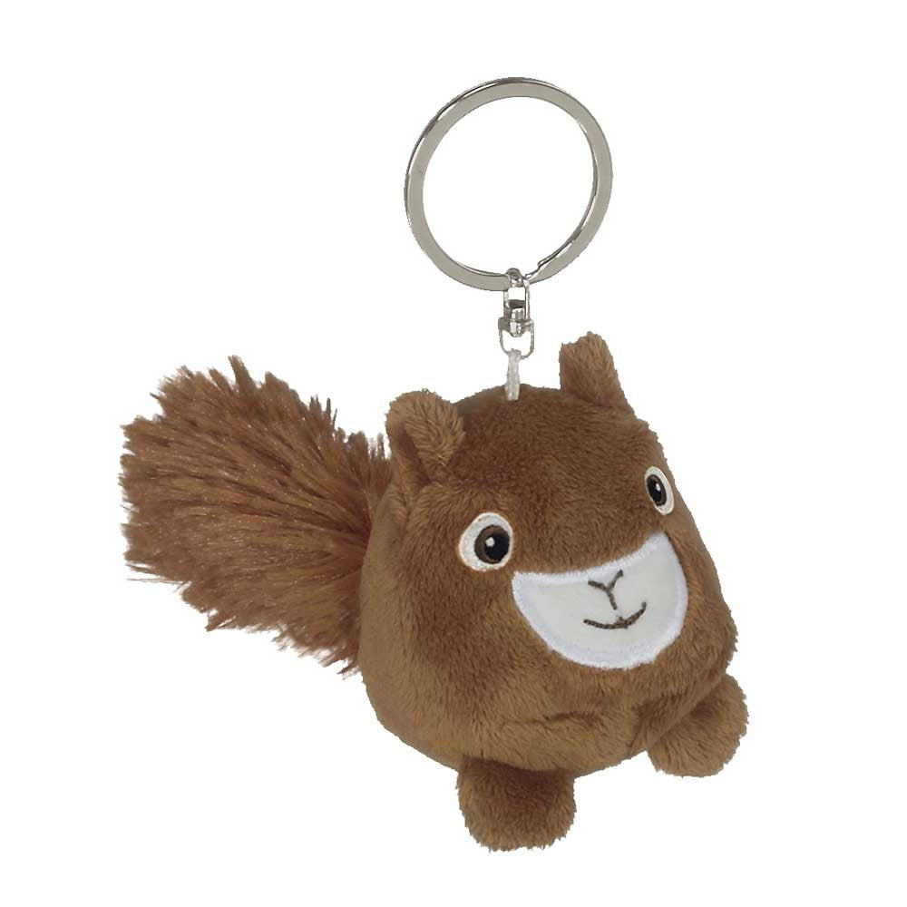 "Mini Squirrel Hunk Keychain 2""- 15801"
