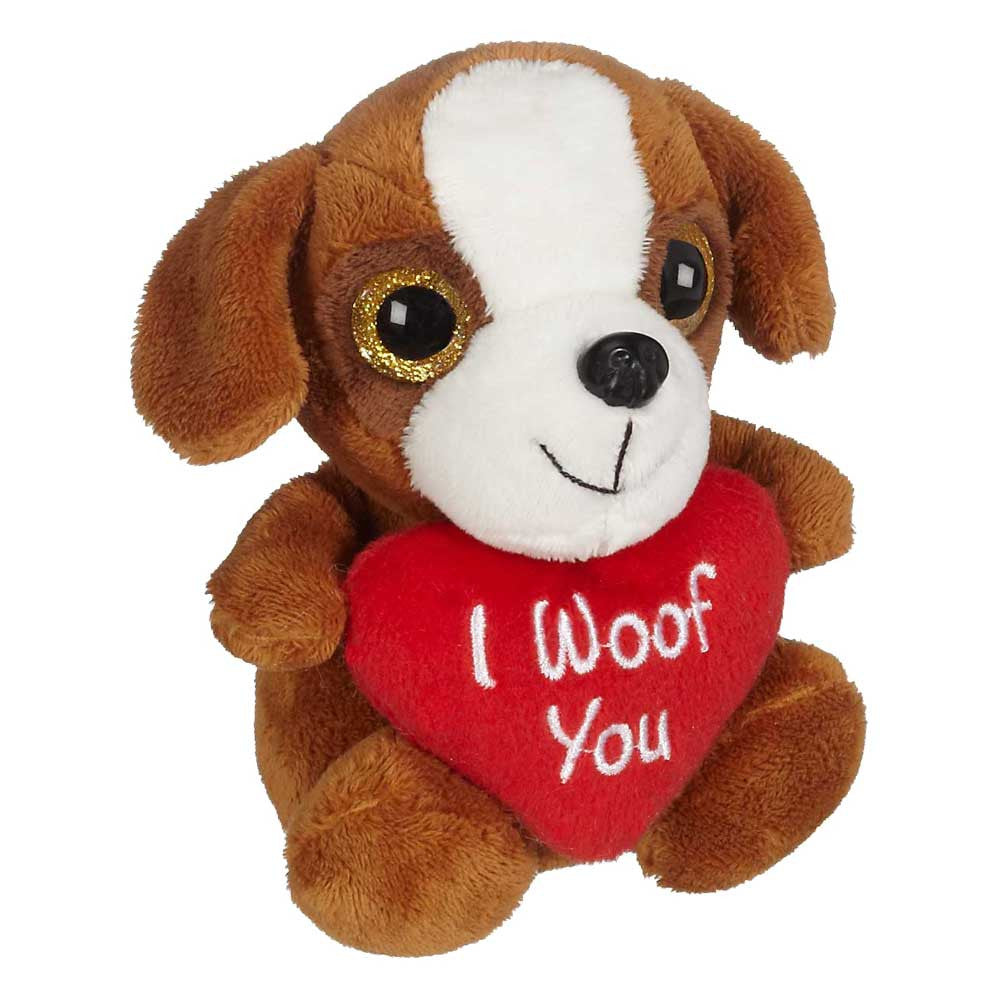"Puppy Dog with Heart 5"" sit. - 16001"