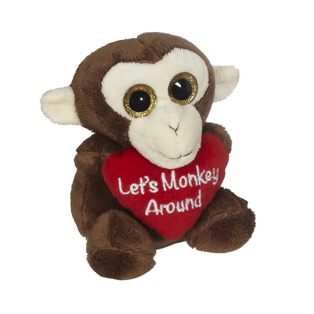"Monkey with Heart 5"" sit. - 16003"