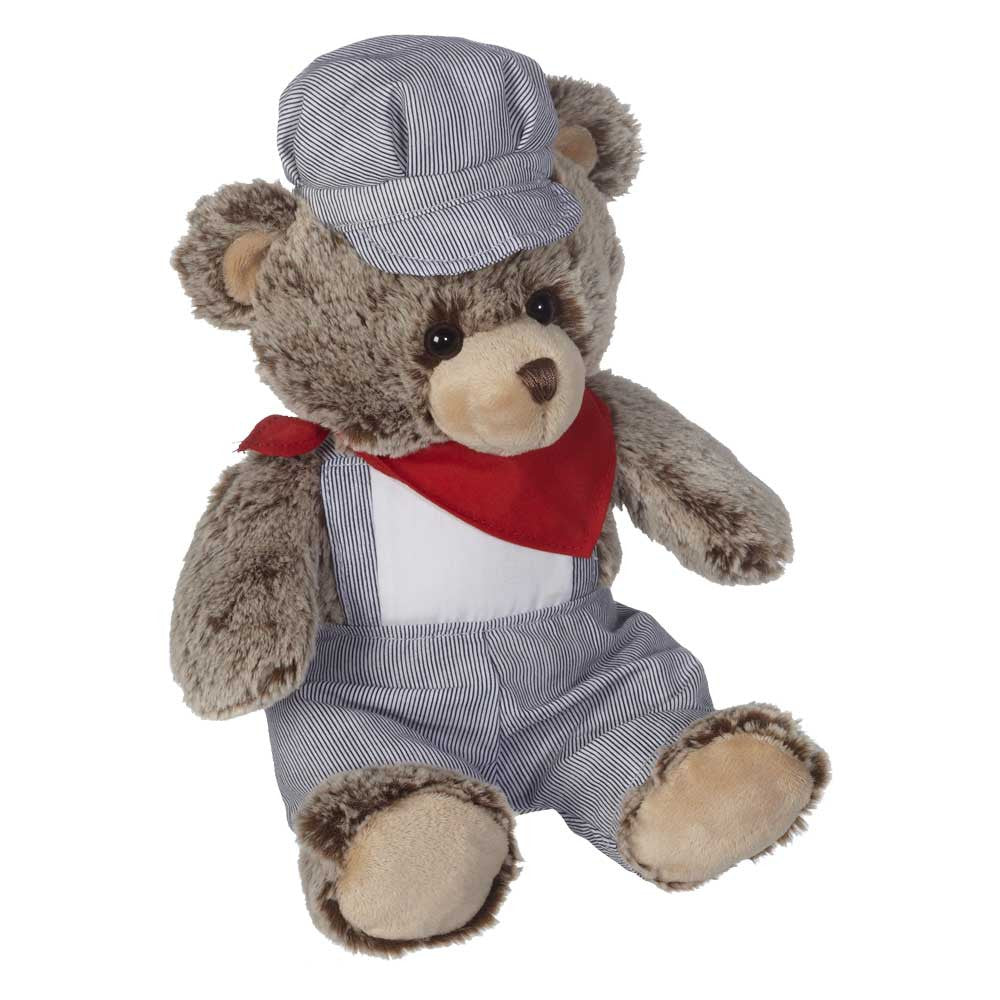 "Train Engineer Bear 9"" sit. - 16101"