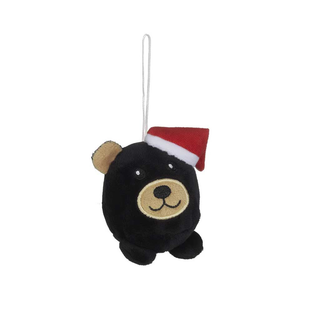 "Mini Black Bear Christmas Hunk Ornament 2""- 16792"