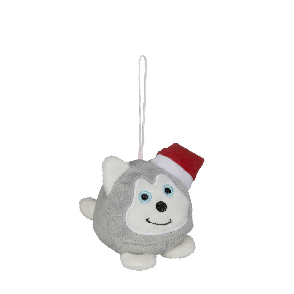 "Mini Husky Christmas Hunk Ornament 2""- 16793"