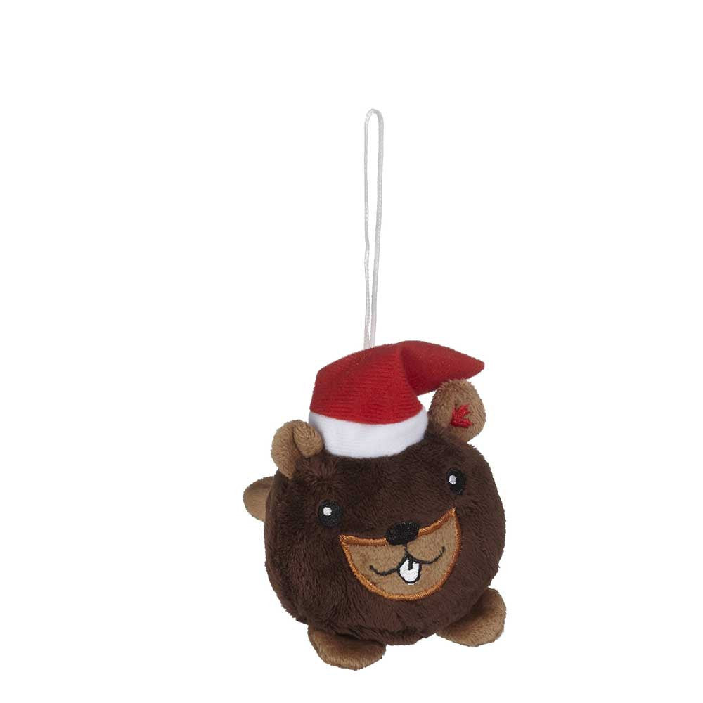 "Mini Beaver Christmas Hunk Ornament 2""- 16794"