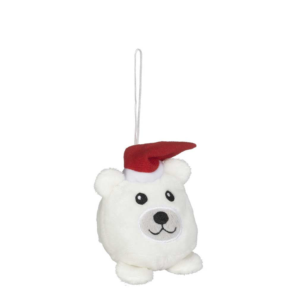 "Mini Polar Bear Christmas Hunk Ornament 2""- 16795"