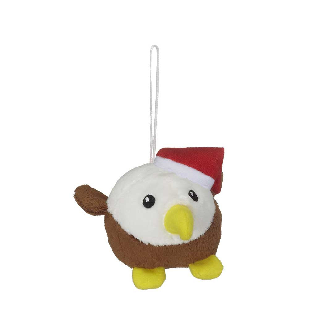 "Mini Eagle Christmas Hunk Ornament 3""- 16797"
