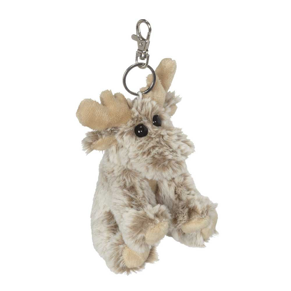 "Big Eye Moose Keychain 5""- 18791"