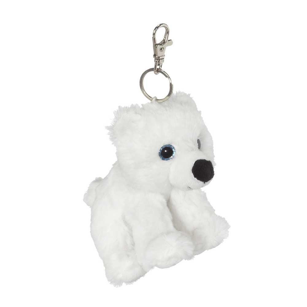 "Big Eye Polar Bear Keychain 5""- 18795"