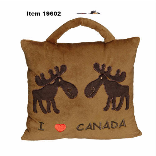 "Moose Pillow 11""- 19602"