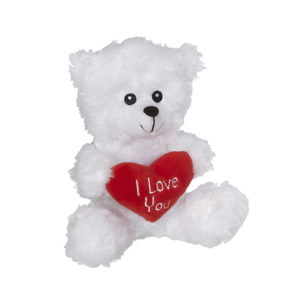 "Valentine Tommy Bear 6"" sit. - 20612"