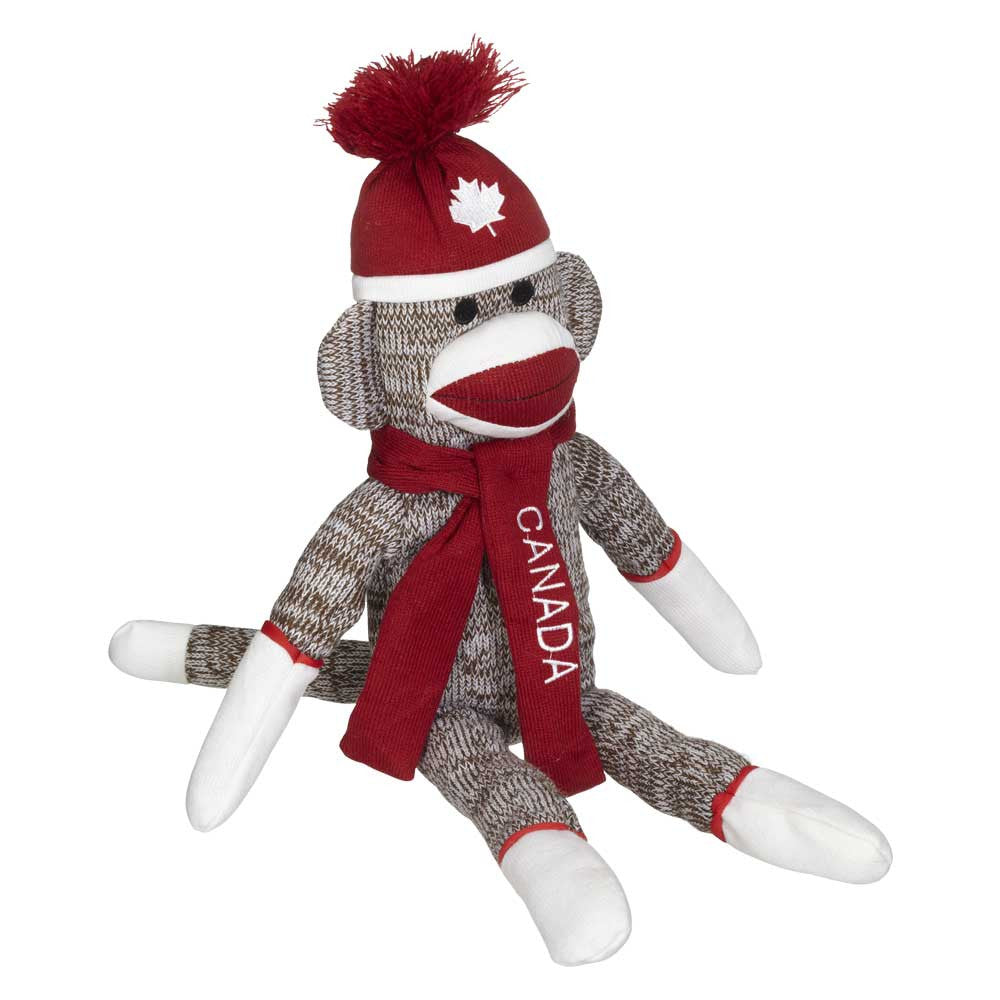 "Canadian Sock Monkey 19""- 23346c"