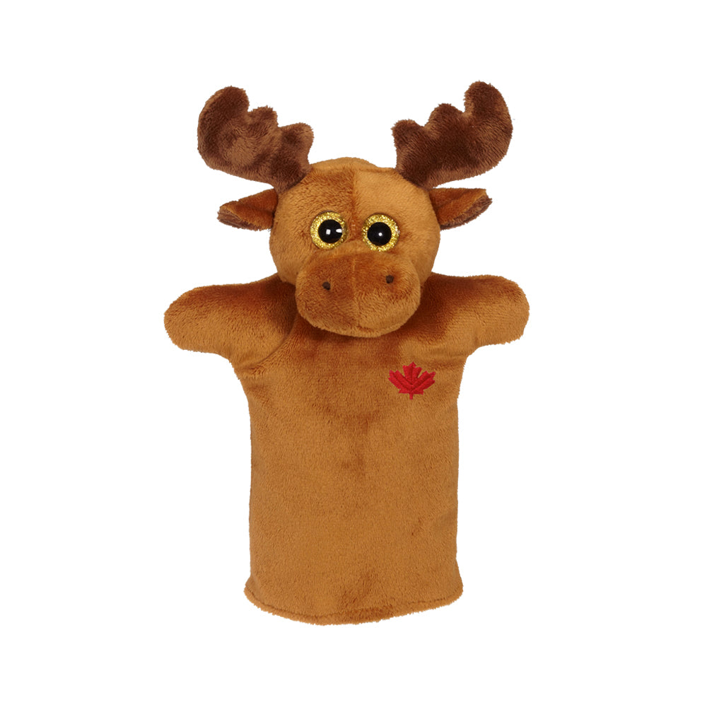 "Moose Hand Puppet 9""- 24791"