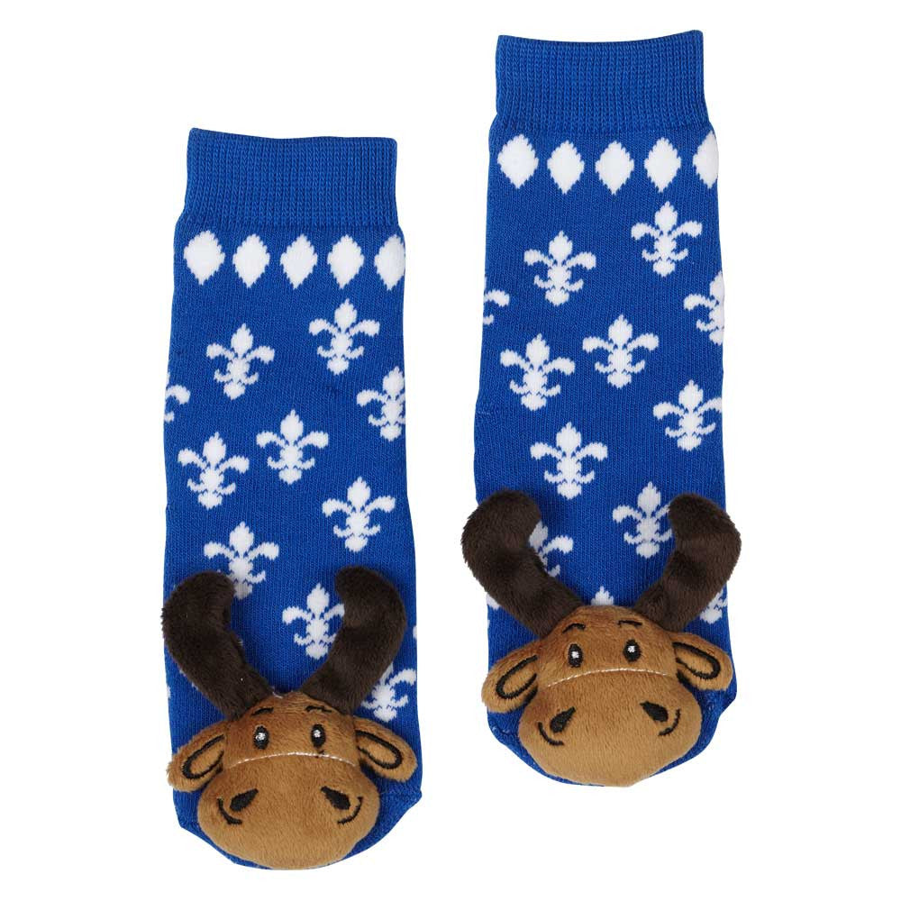 Quebec Moose Socks 27016