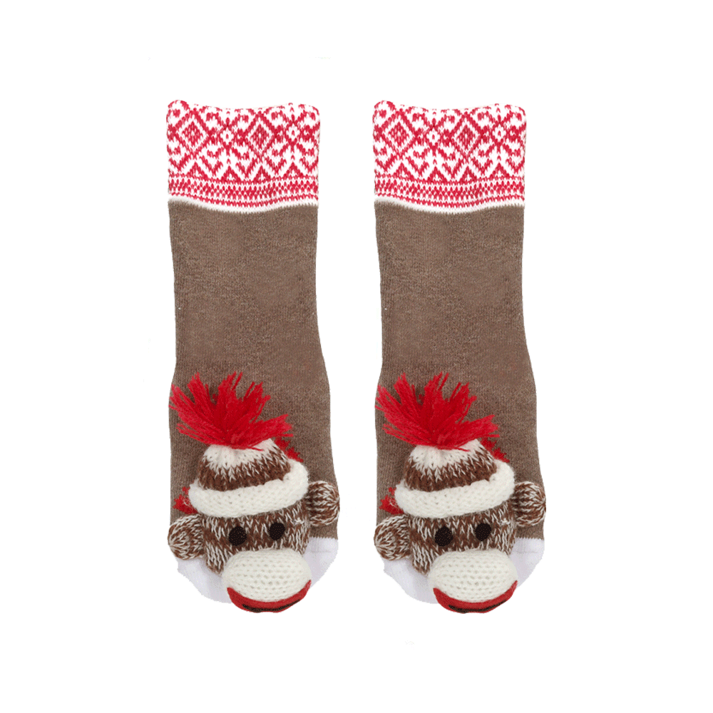 Sock Monkey Aztec Design- 28002