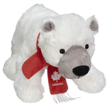 "Polar Bear With Scarf 8""- 30262"