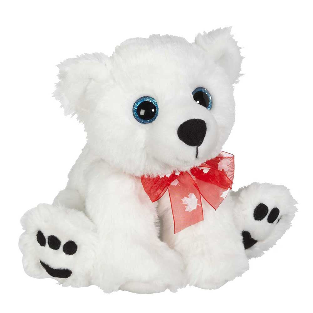 "Big Eye Polar Bear 8""- 30615"