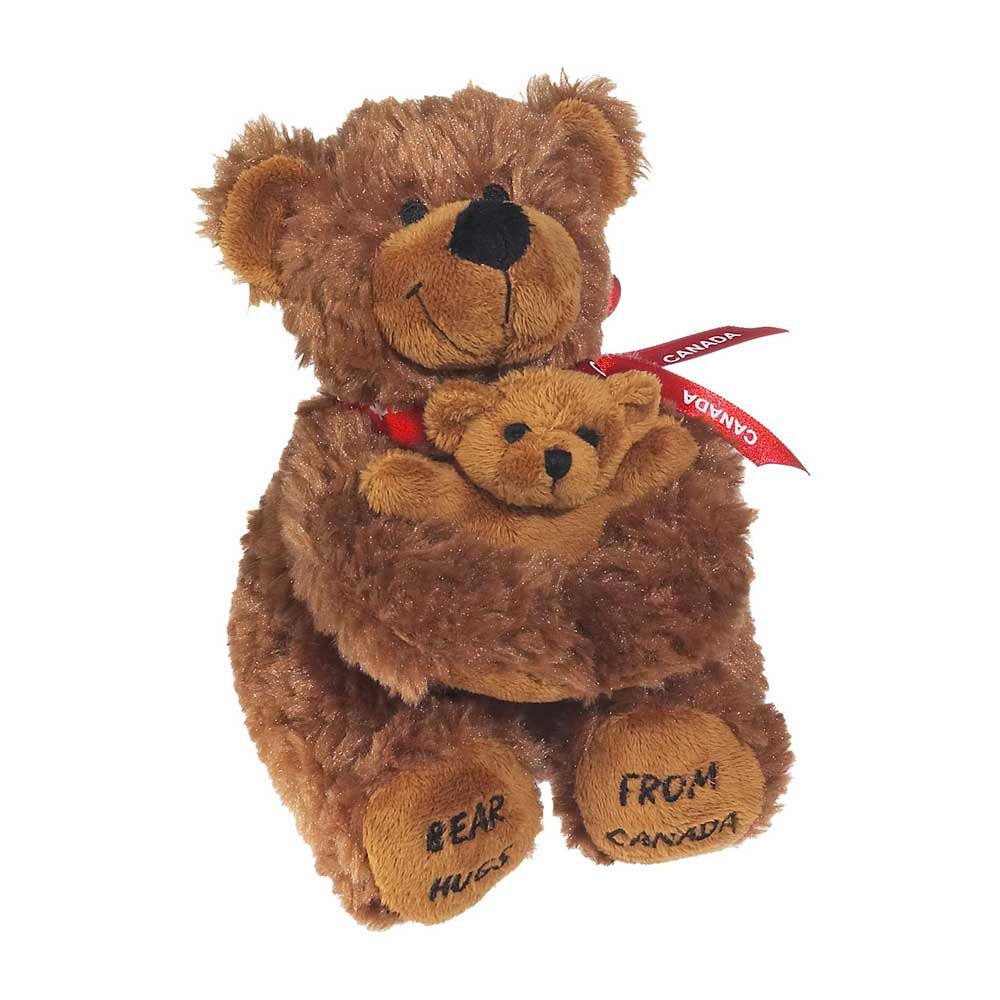 "Mini Brown Bear and Baby 7""- 37018"