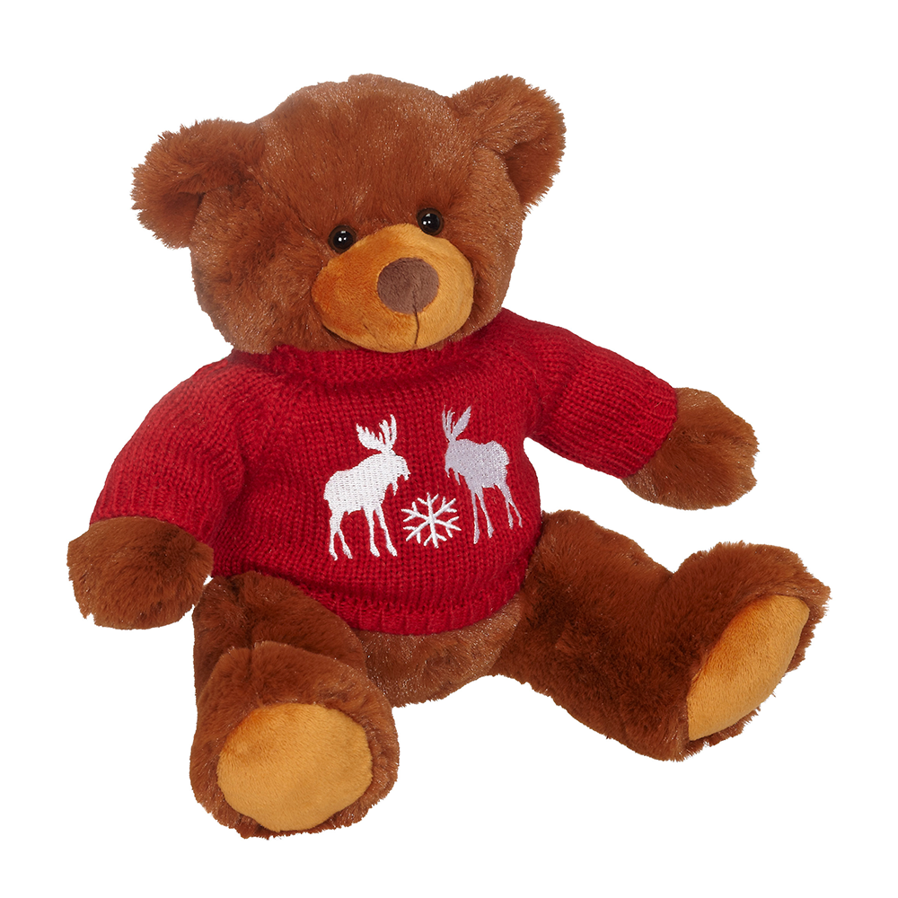 "JoJo Bear w/Festive Sweater 9"" - 50208S"