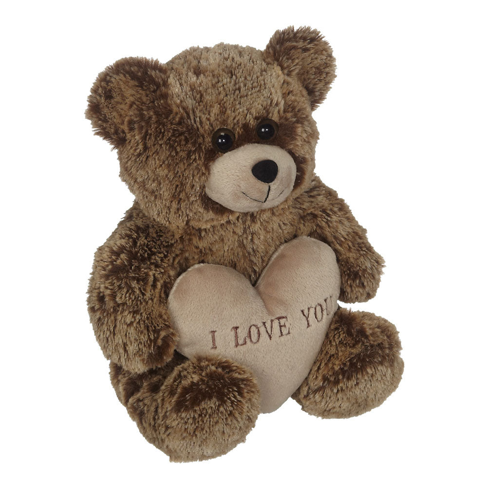 "Jimmy Bear ""I LOVE YOU"", Brown 8"" - 52339B"