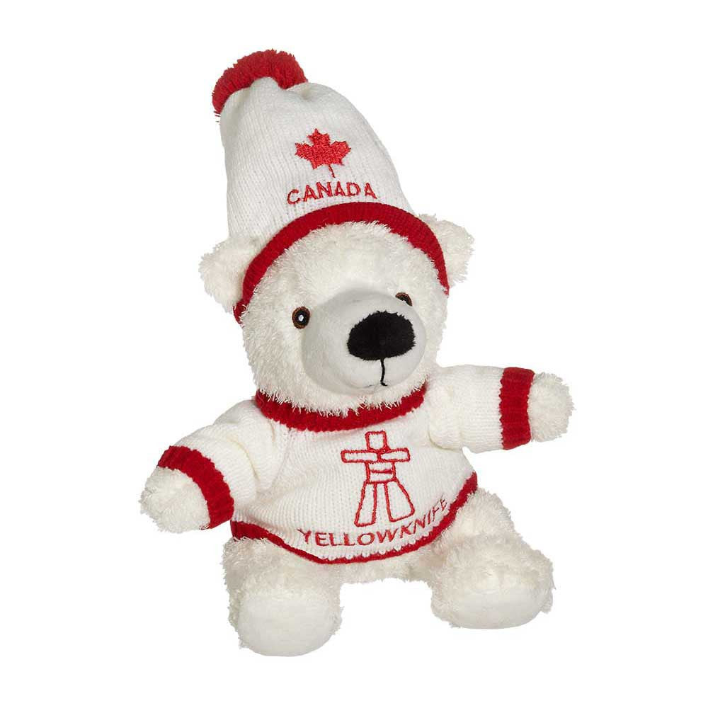 "Toque Polar Bear 8""- 60070"