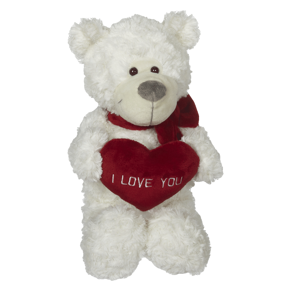 "Bradley Bear With Heart 13""- 63081"