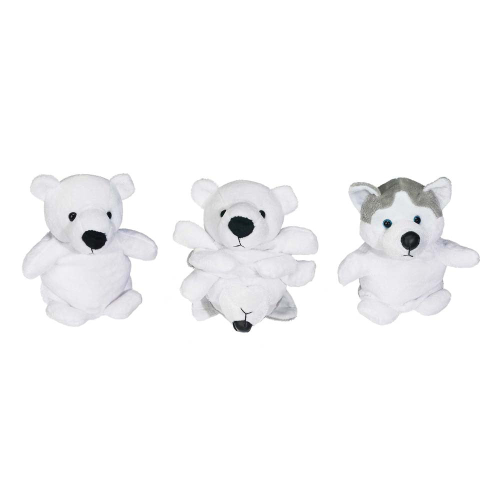 "Polar Bear/Husky Peek-A-Boo Pal 6""- 70717"